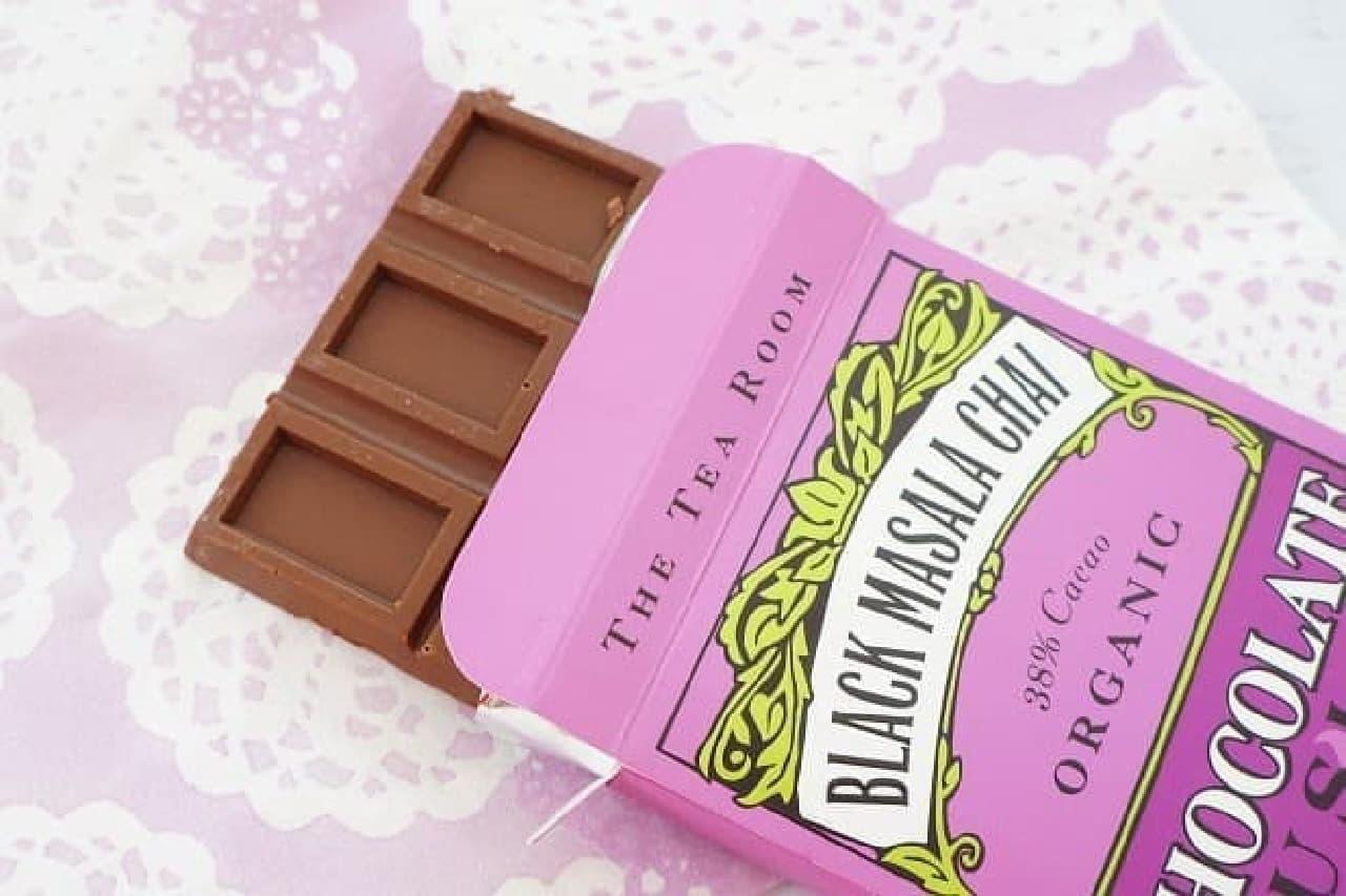 ティールーム・オーガニックチョコレート ブラックマサラチャイ