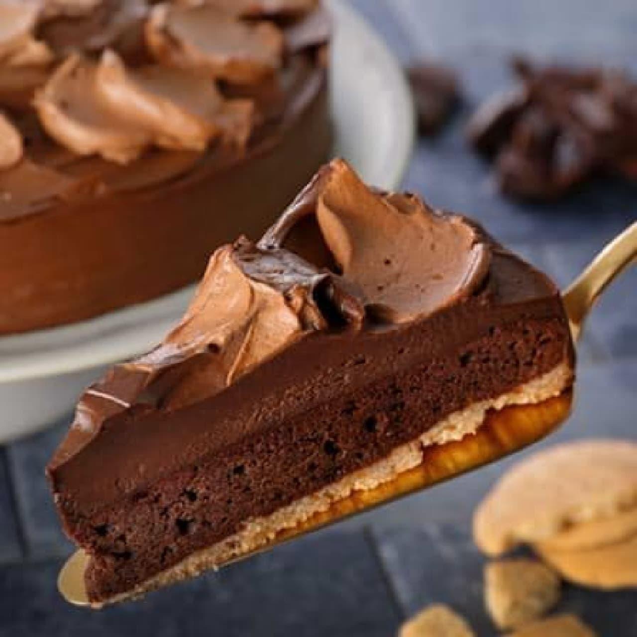 スターバックス コーヒー「チョコレートケーキ」