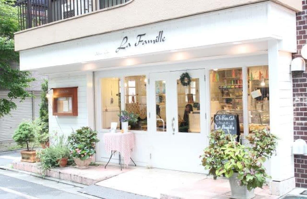 池袋にある「ラ・ファミーユ」はシフォンケーキ専門店