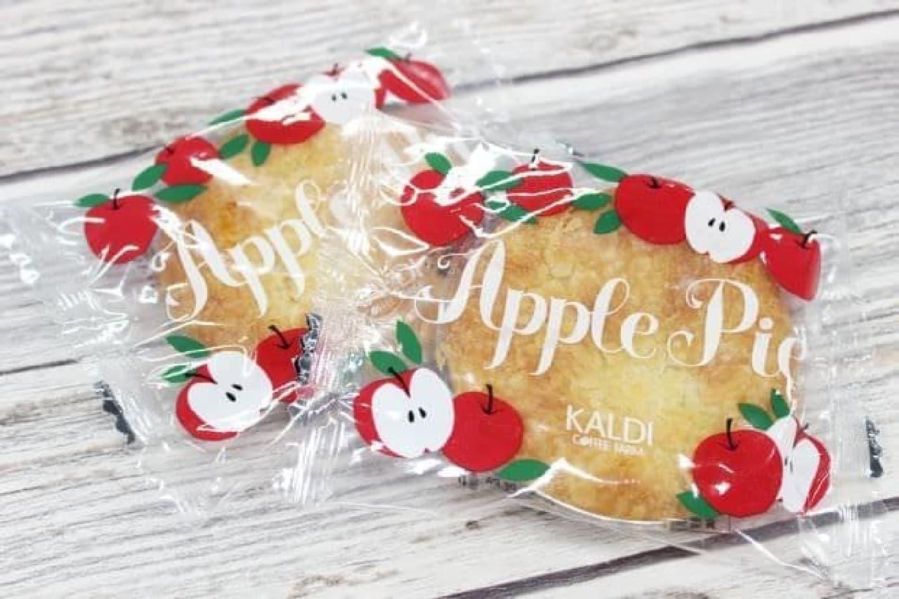 カルディ「りんごバッグ」にオリジナルアップルパイ