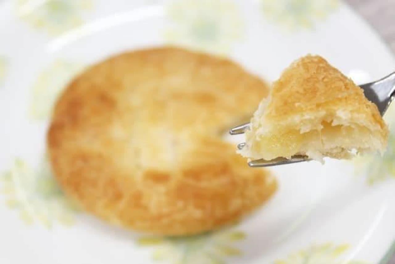 カルディ「りんごバッグ」のアップルパイ