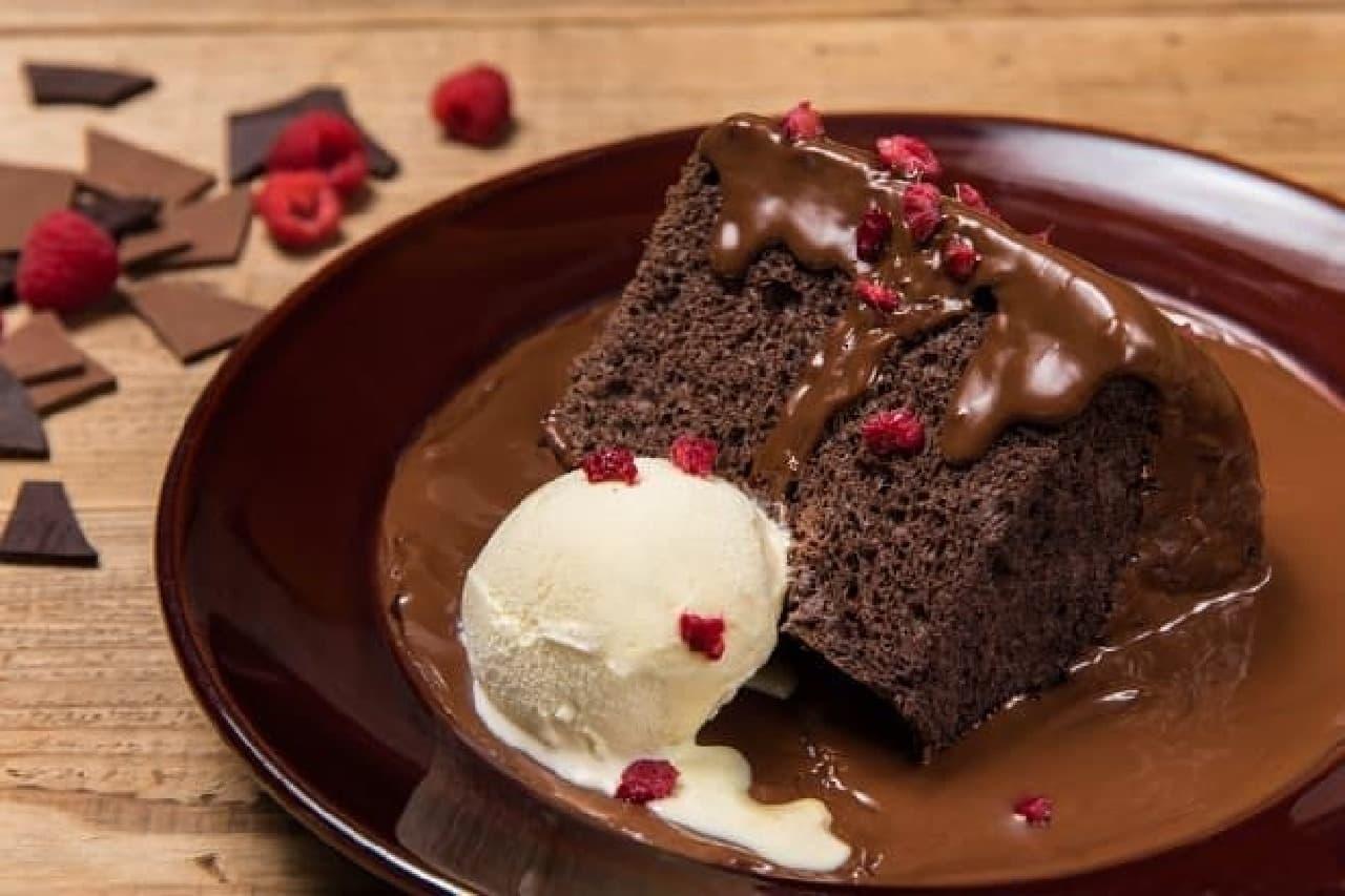 マックスブレナー チョコレートバー「ブラックアウトケーキ」