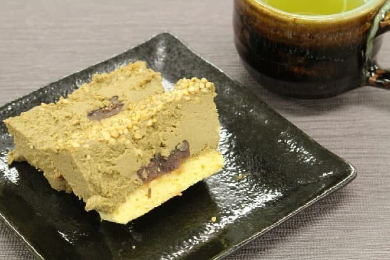 """国産ほうじ茶と胡麻の""""和""""プレミアムチーズケーキ"""