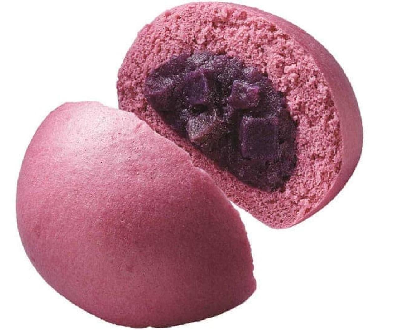 種子島ロマンの紫芋まん
