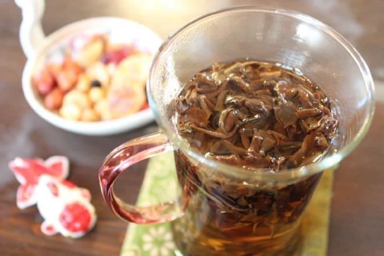 本郷三丁目にある「金魚坂」で提供される中国茶