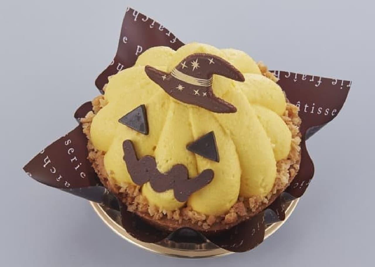 シャトレーゼ「ハロウィン かぼちゃのおばケーキ」