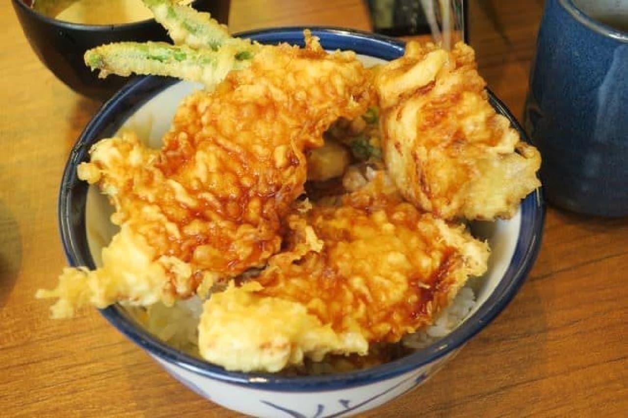 播州(ばんしゅう)赤どり天丼