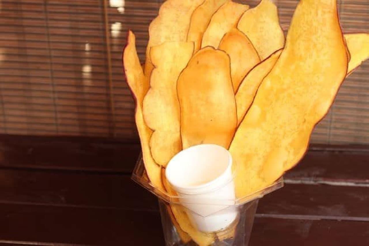 小江戸おさつ庵の「おさつチップ」