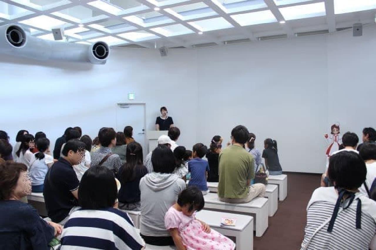 「グリコピア・イースト」内「カレッジホール」でポッキー作り体験の参加者を募集
