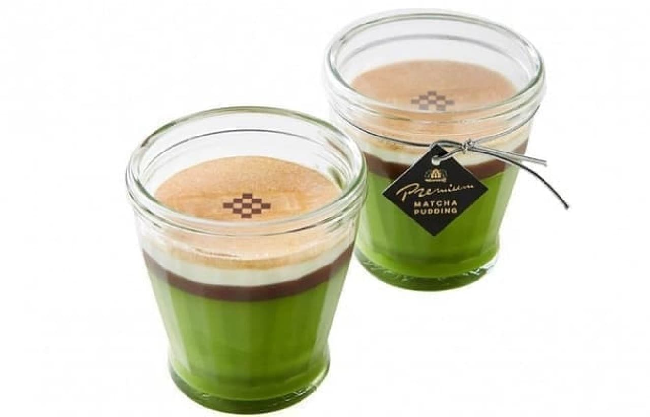 モロゾフ「京の贅沢抹茶プリン」
