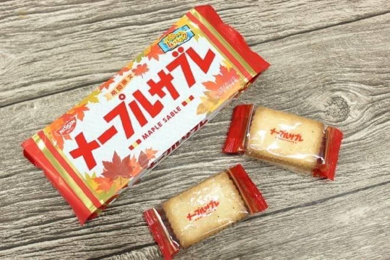 「メープルサブレ」は、メープルの自然な甘みとふんわり広がる香りが楽しめるお菓子