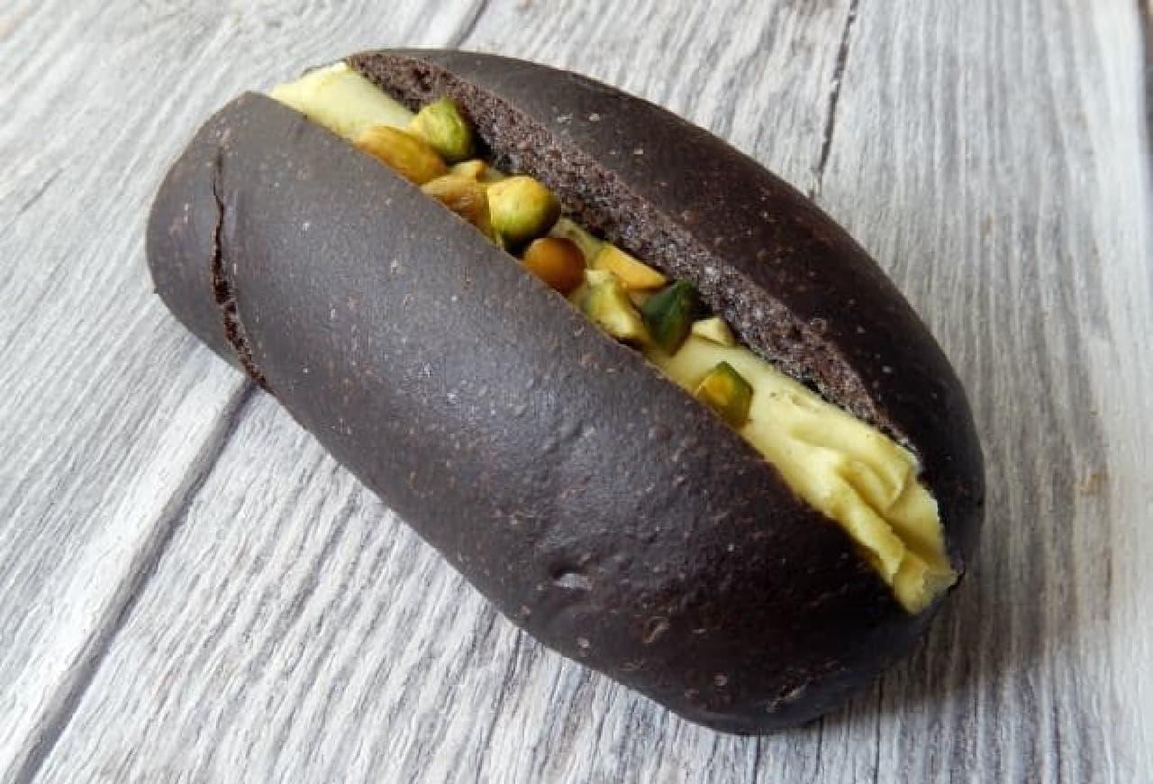 上野イアコッペのコッペパン ピスタチオ