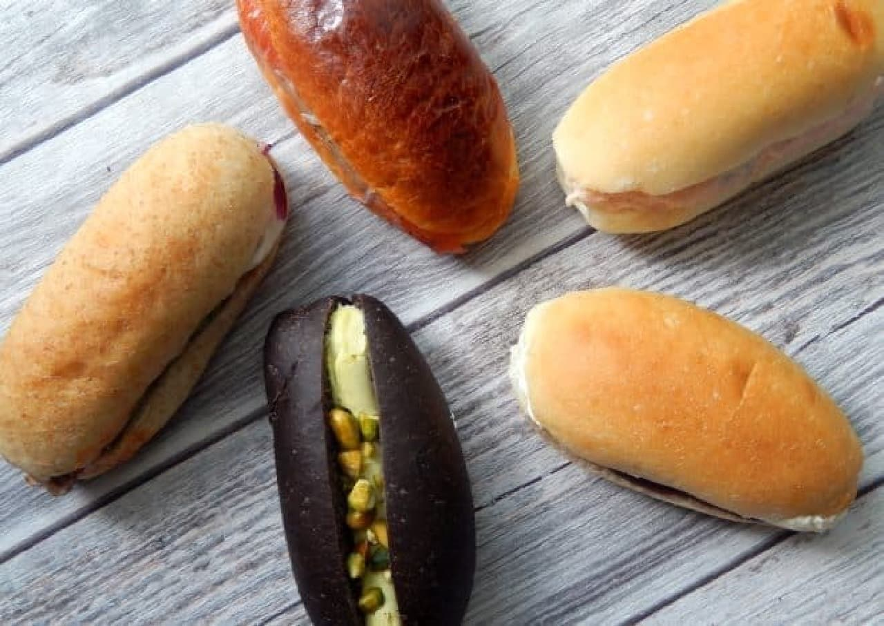上野イアコッペのコッペパン