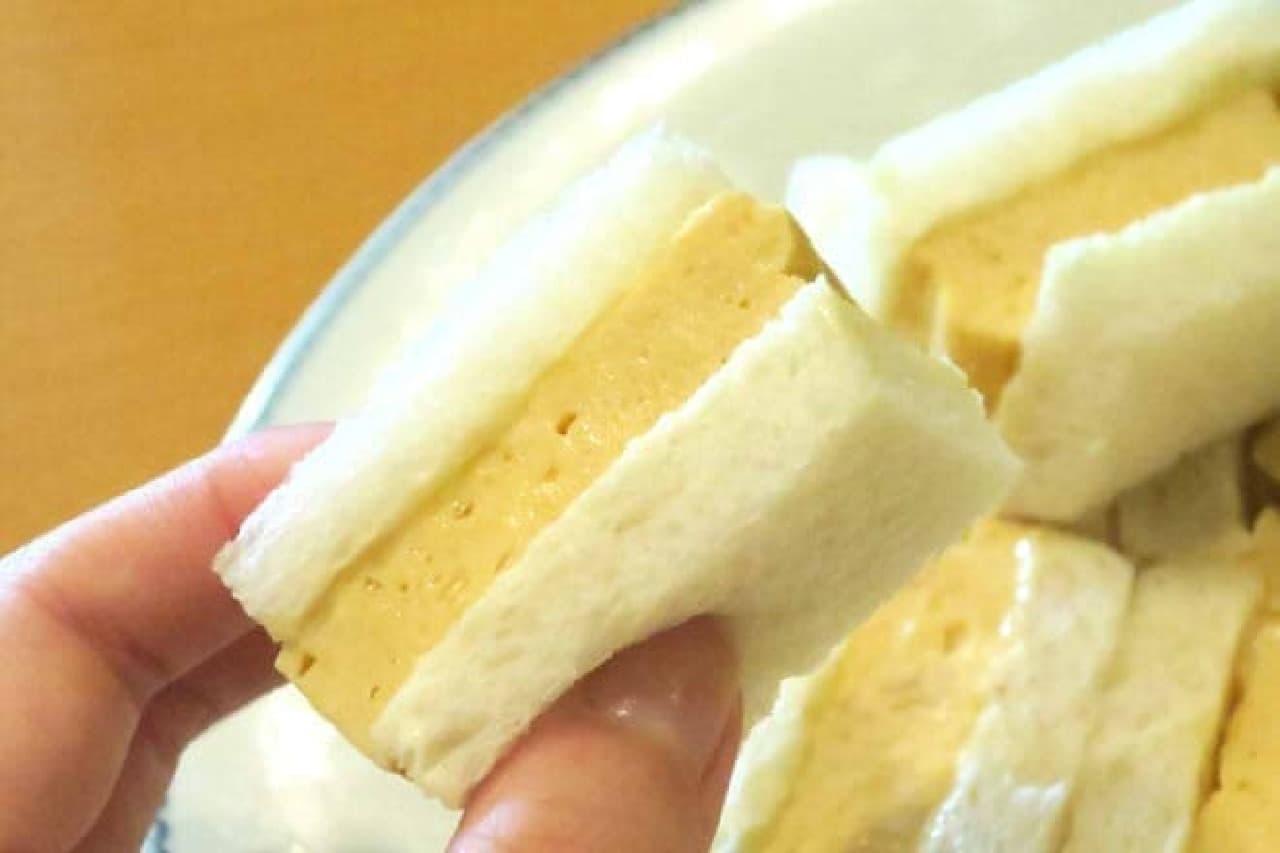 麻布十番 甘味処 天のや 玉子サンド