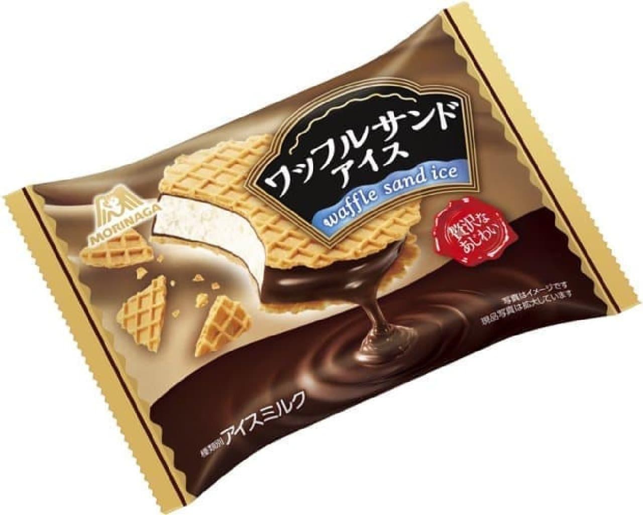 森永製菓「ワッフルサンドアイス」