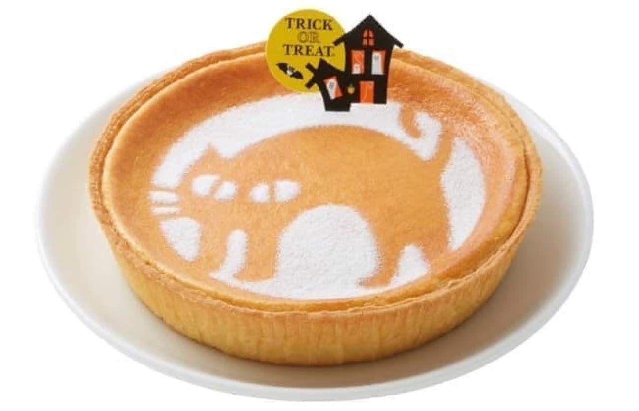 モロゾフ「ハロウィーン デンマーククリームチーズケーキ(クローニャ)」