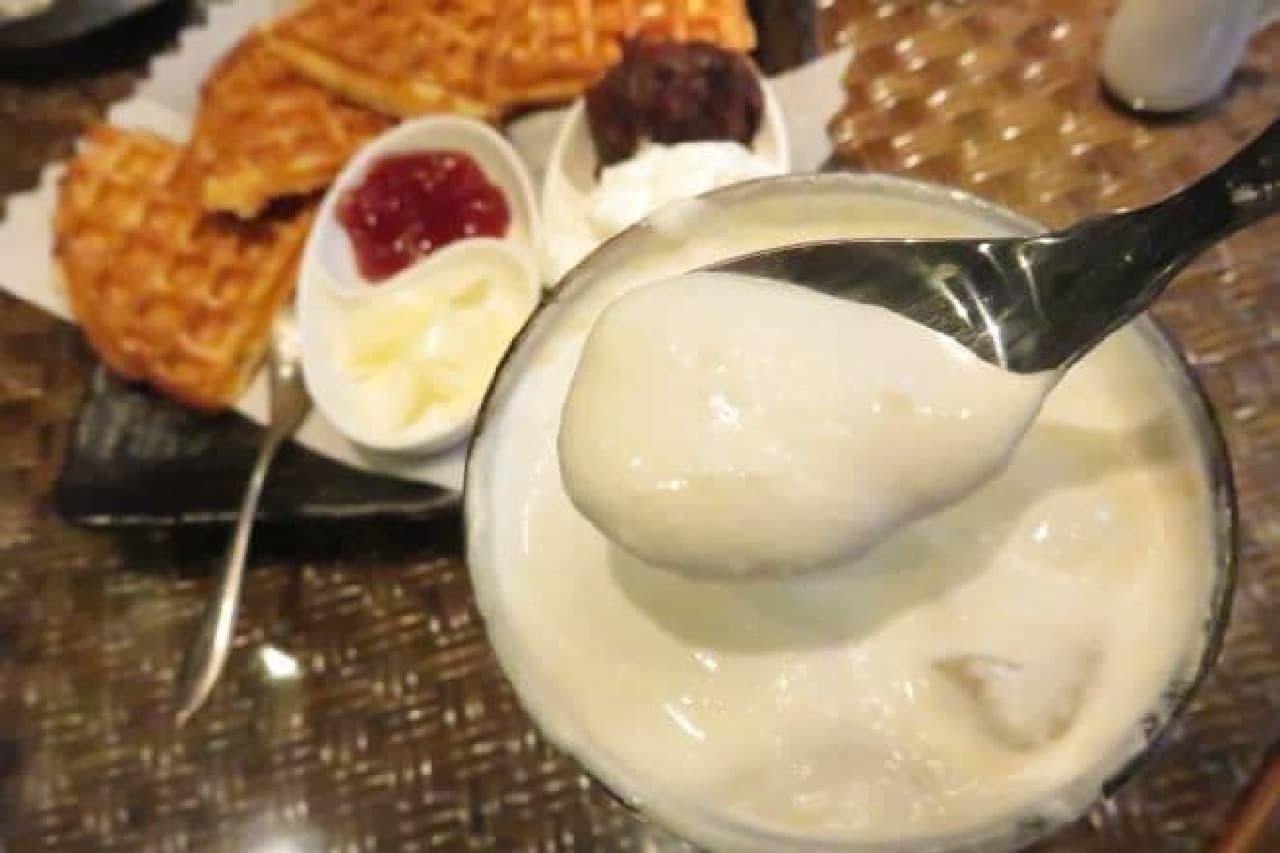 喫茶店「gion」のウィンナーアイスコーヒー