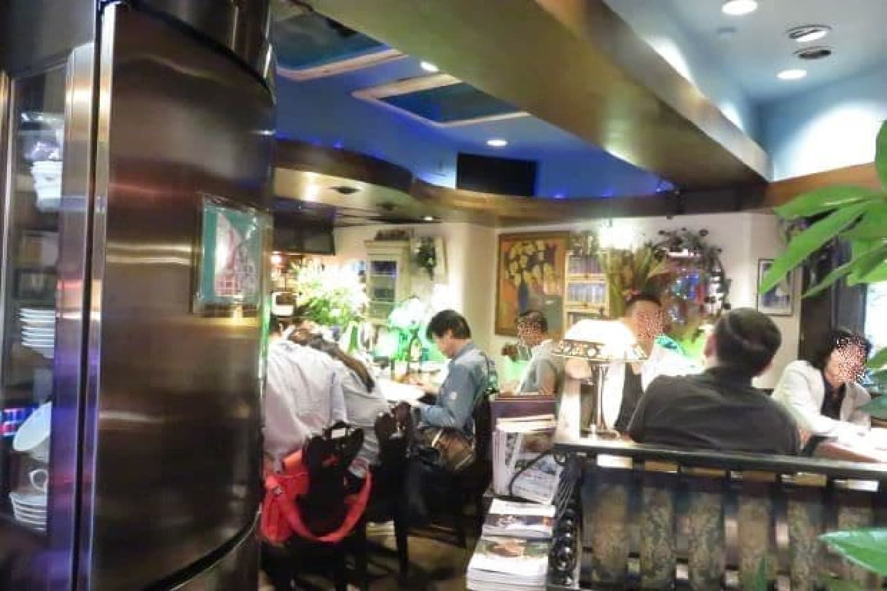 喫茶店「gion」の内観