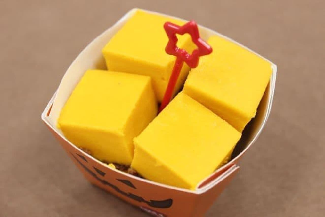 パンプキンチーズケーキは、かぼちゃとチーズの豊かな風味が楽しめるスイーツ
