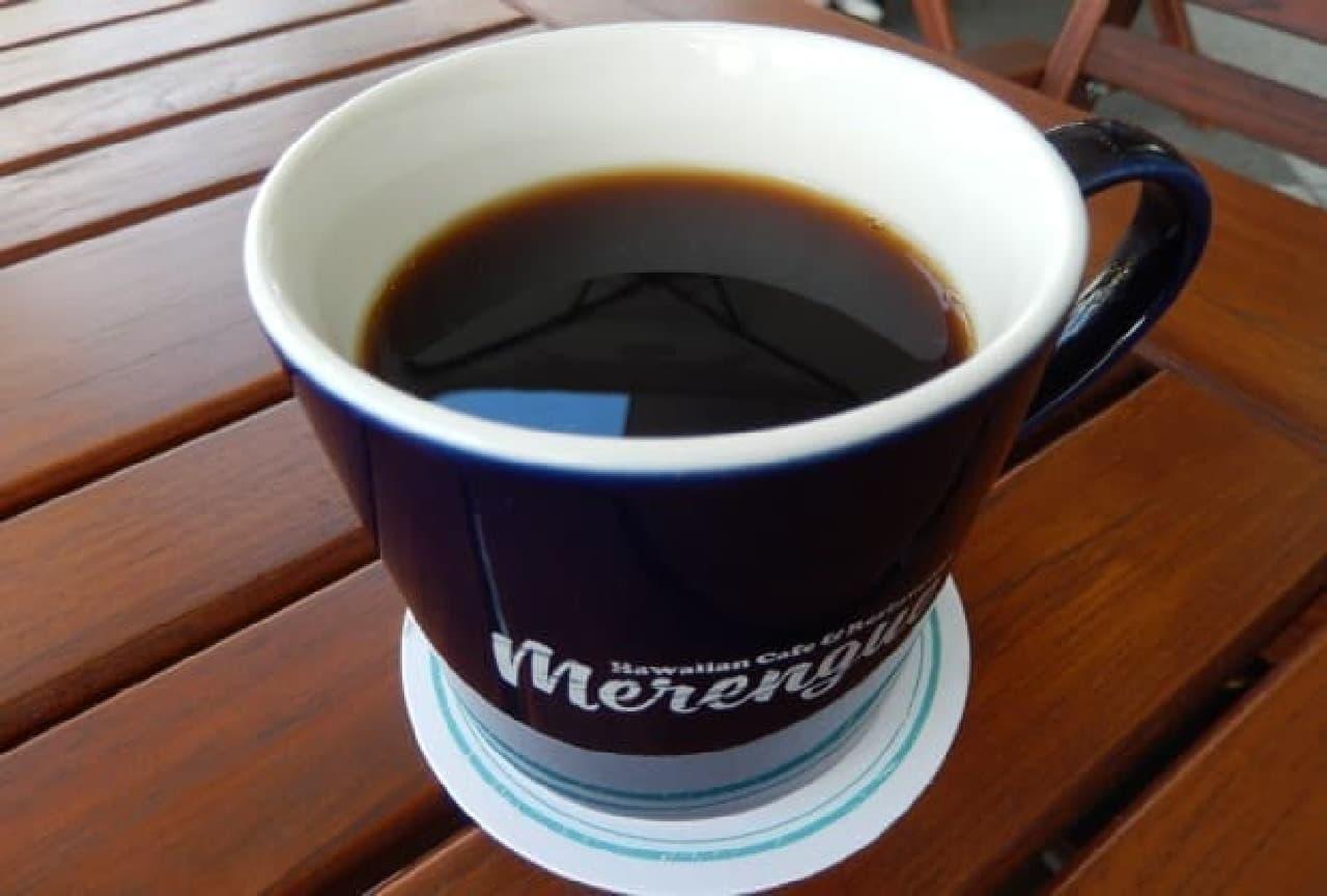 メレンゲ「今月のシングルオリジンコーヒー」
