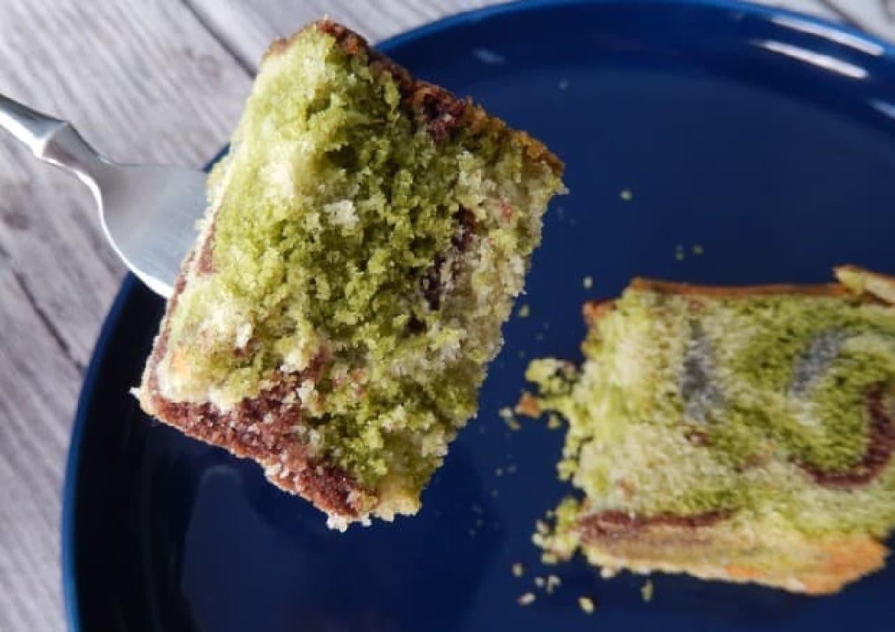 横須賀カレー本舗「迷彩パウンドケーキ」