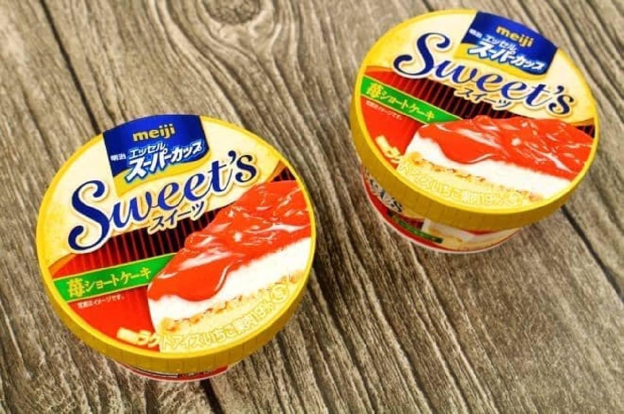 治 エッセル スーパーカップ Sweet's 苺ショートケーキ