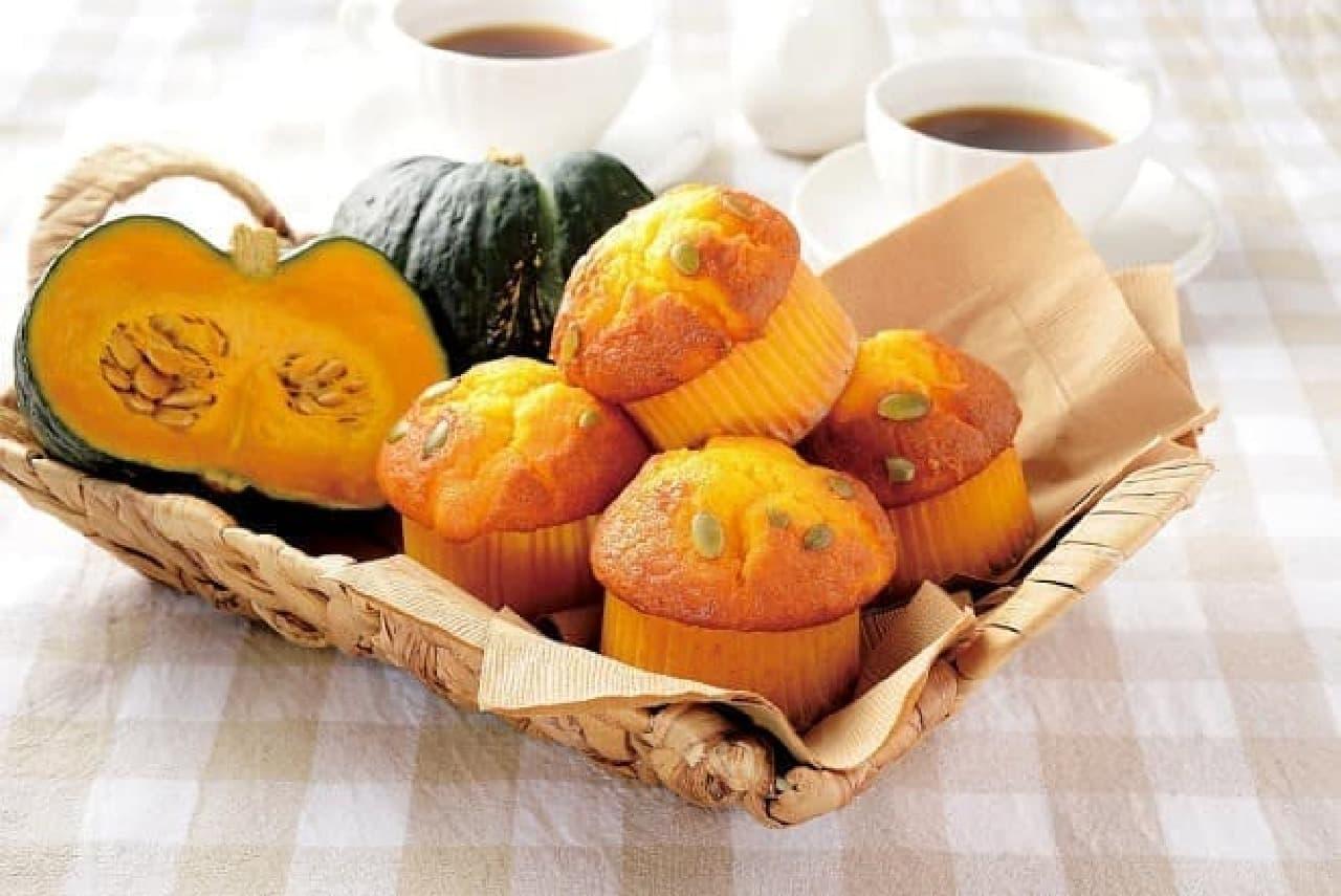 ローソン「えびすかぼちゃマフィン」