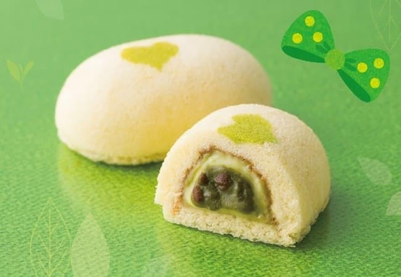 東京ばな奈ワールド「銀座のお抹茶ケーキ」