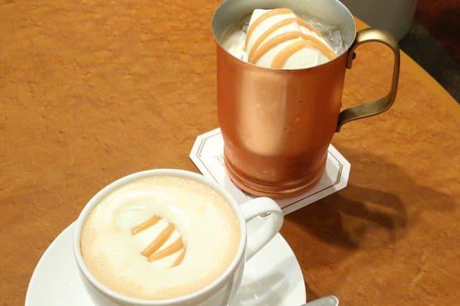 UCCコーヒー博物館「生キャラメルミルク珈琲」