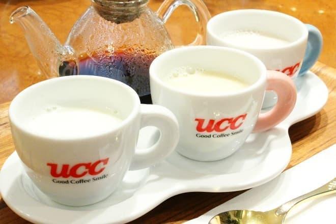 UCCコーヒー博物館「3種のミルクのカフェ・オ・レ飲み比べセット」