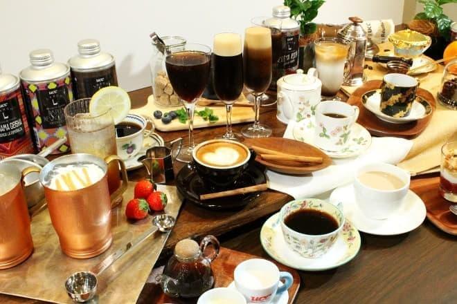 UCCコーヒー博物館「NEXT COFFEE 30MENU」