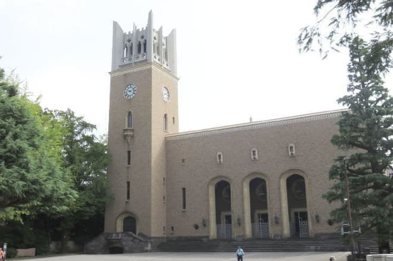 早稲田大学の大隈講堂