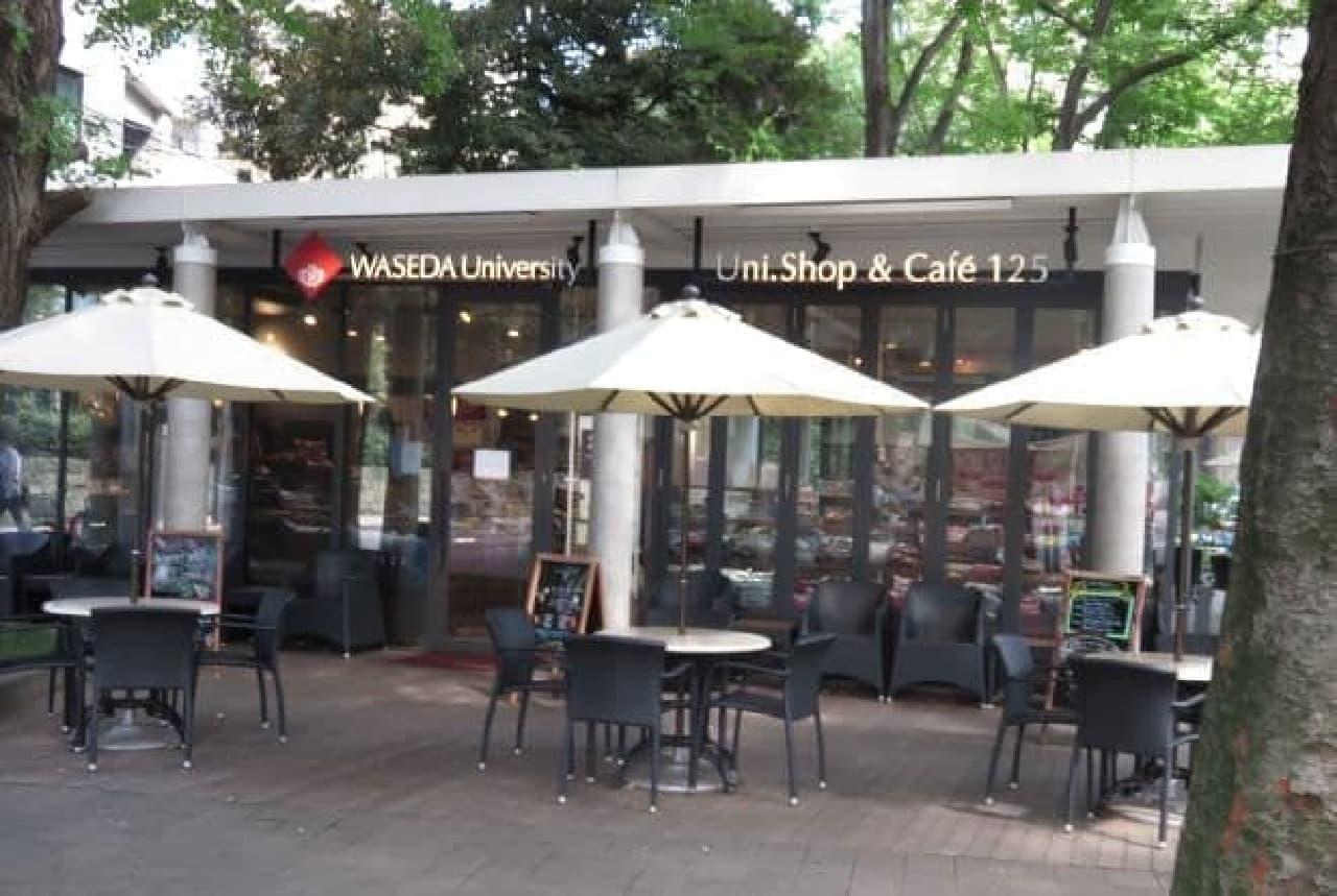 2002年にオープンしたオフィシャルグッズ&カフェ「Uni.Shop&Cafe 125」