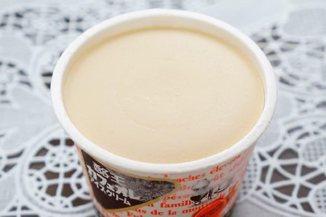 酪王カフェオレアイス