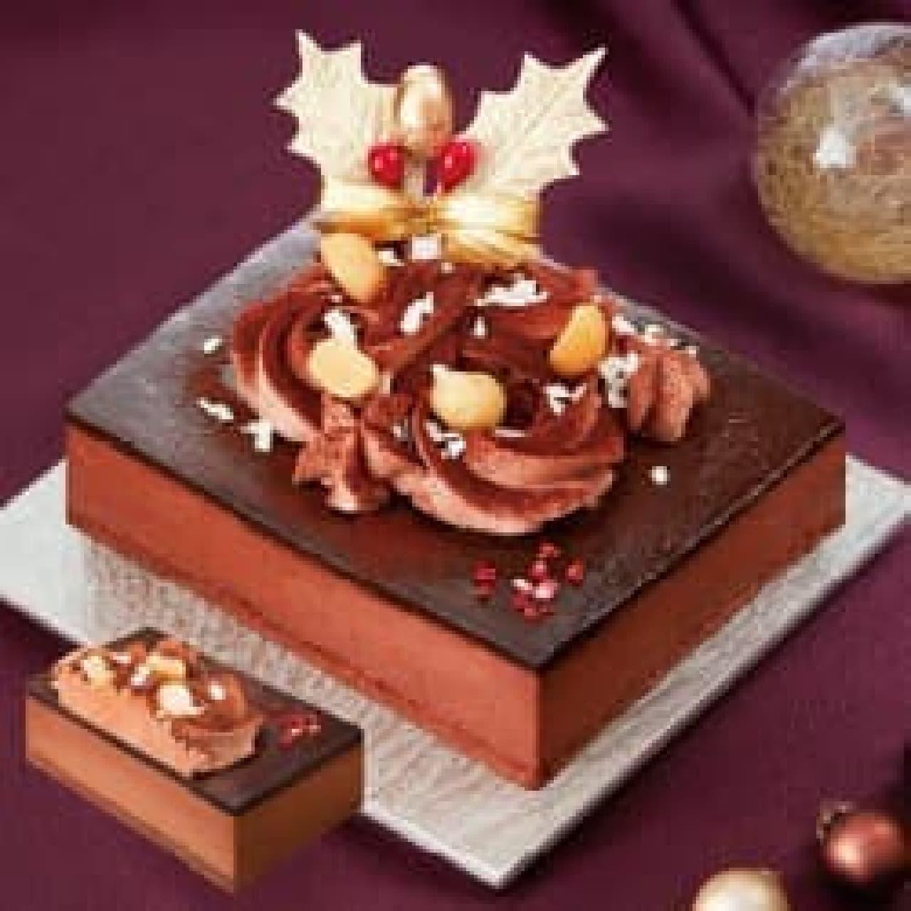 ファミリーマート「ケンズカフェ東京 クリスマスショコラケーキ」