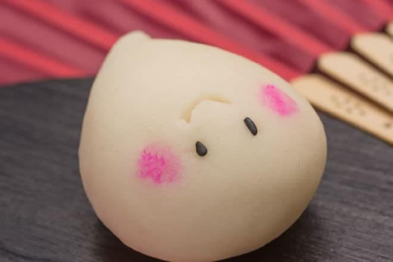 「おばけちゃん」は、上生菓子「練り切り」でできたオバケの和菓子