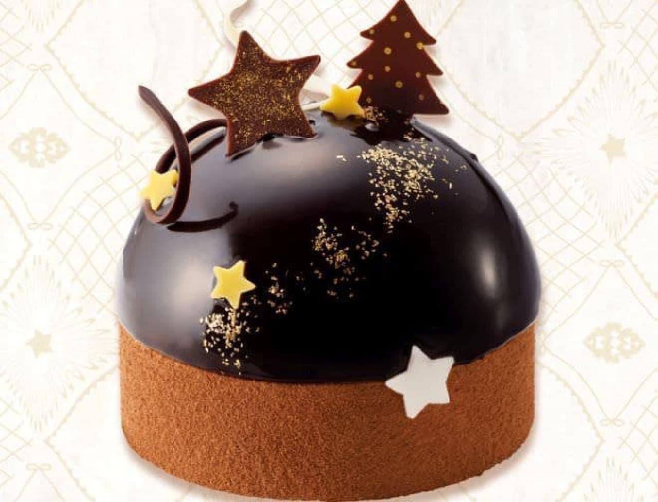 """「星降るショコラ・ドーム」は、おいしいショコラの""""7重奏""""が響きあう、聖夜のクリスマスドーム"""