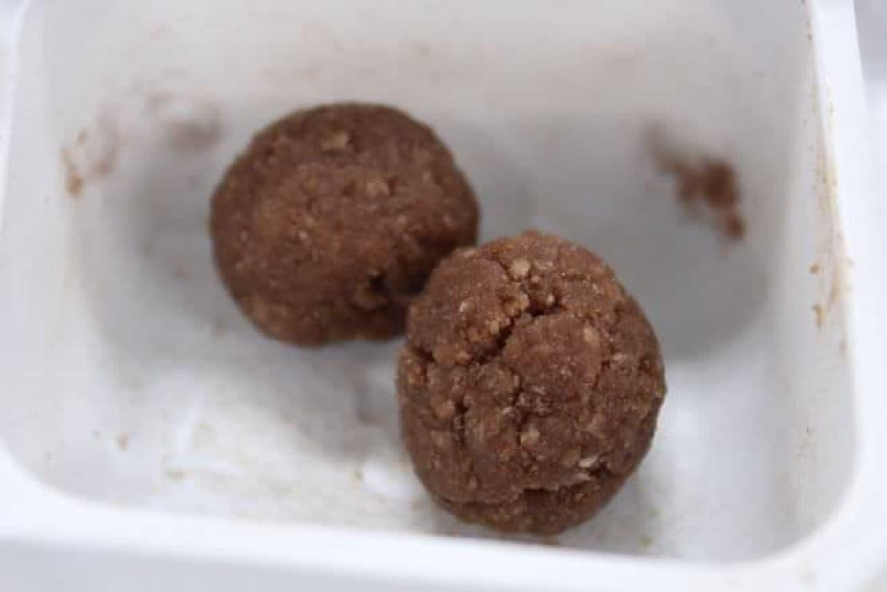 クラシエから販売されている知育菓子ポッピンクッキン・シリーズ「つくろう!おこさまランチ」のミートボール作り