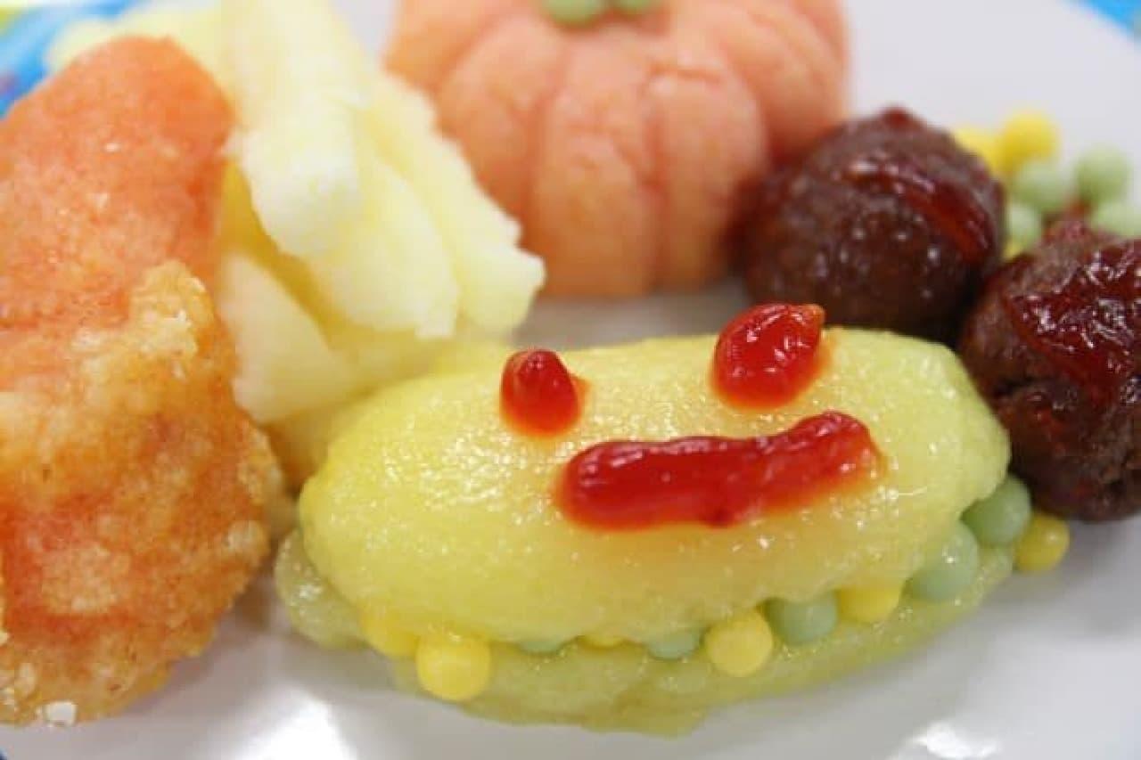 クラシエから販売されている知育菓子ポッピンクッキン・シリーズの「つくろう!おこさまランチ」