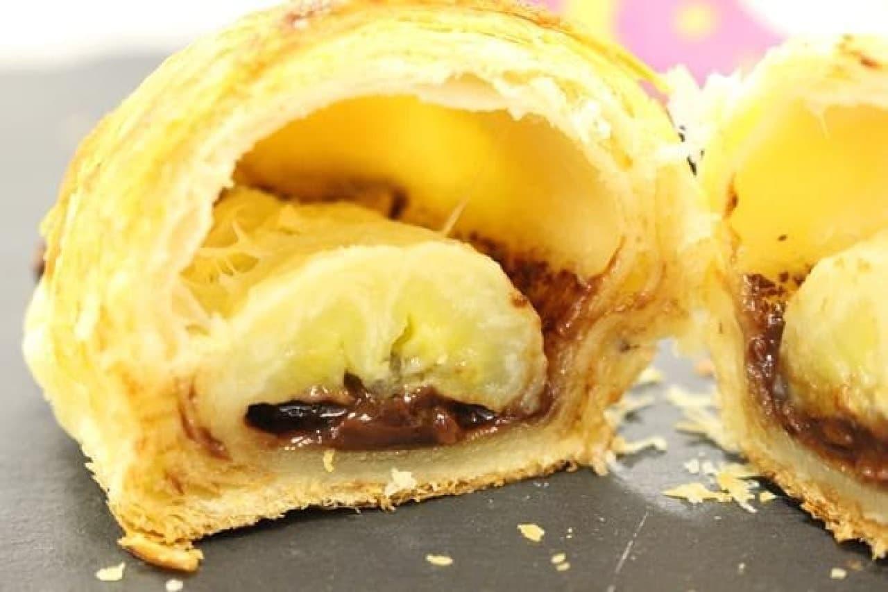 サンマルクカフェに「バナナチョコクロ」