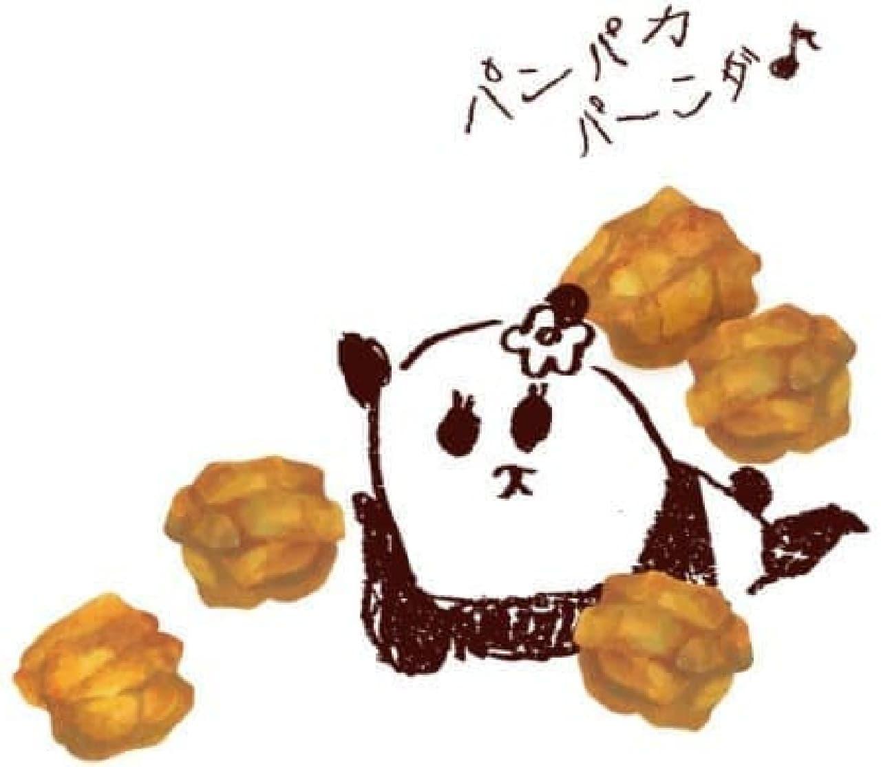 亀田製菓「給食揚パンダ」