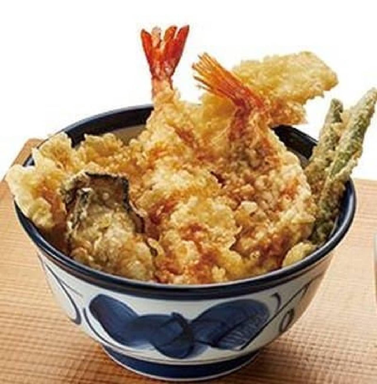 天丼てんや「秋の海鮮天丼」