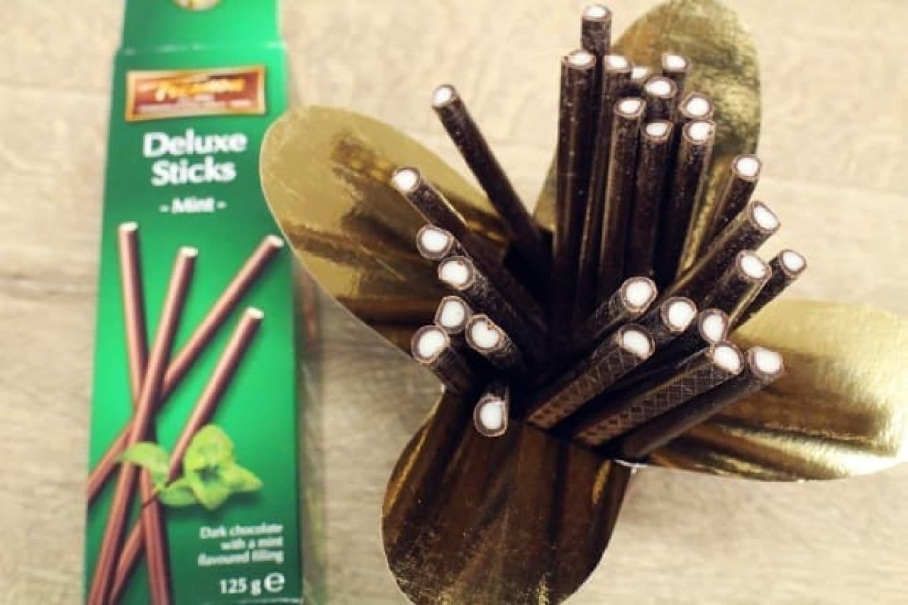 カルディ「トリアノン スティックチョコレート ダークミント」