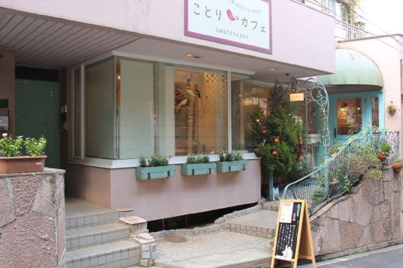 ことりカフェ表参道店の外観
