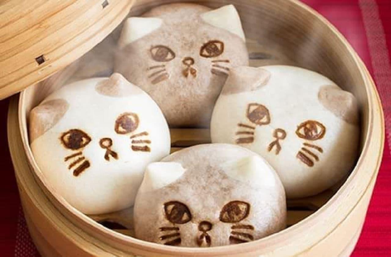 「秋のスイーツ仕立てのふんわかボディー 猫のニャムチャ」は、猫みたいにふんわりやわらかい飲茶
