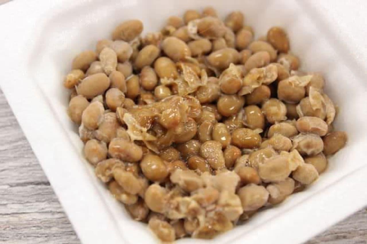 ミツカンの「金のつぶ とろっと豆」