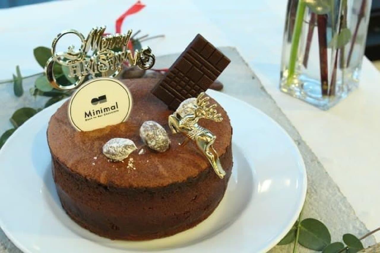 ミニマル クリスマスケーキ