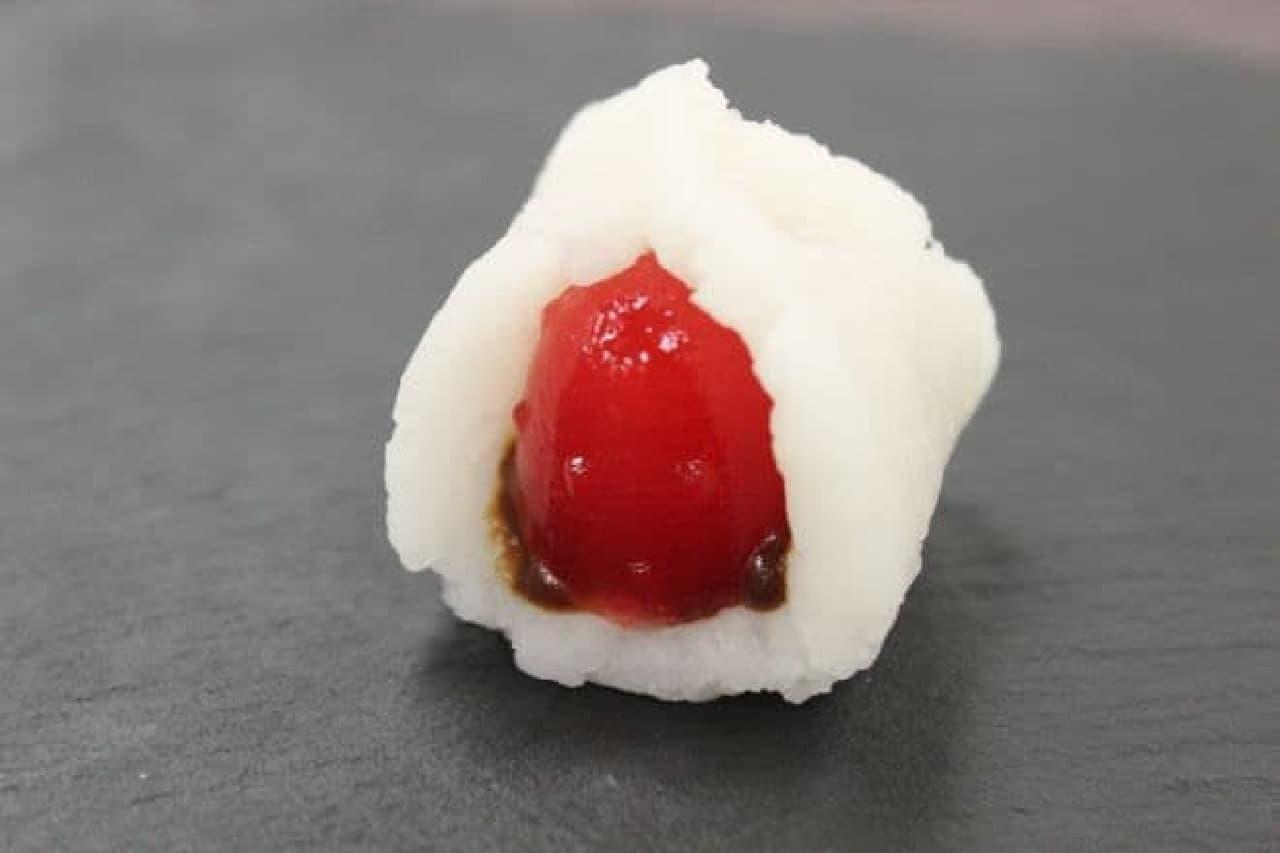 ポッピンクッキン・シリーズ「たいやき&おだんご」のいちご大福づくり