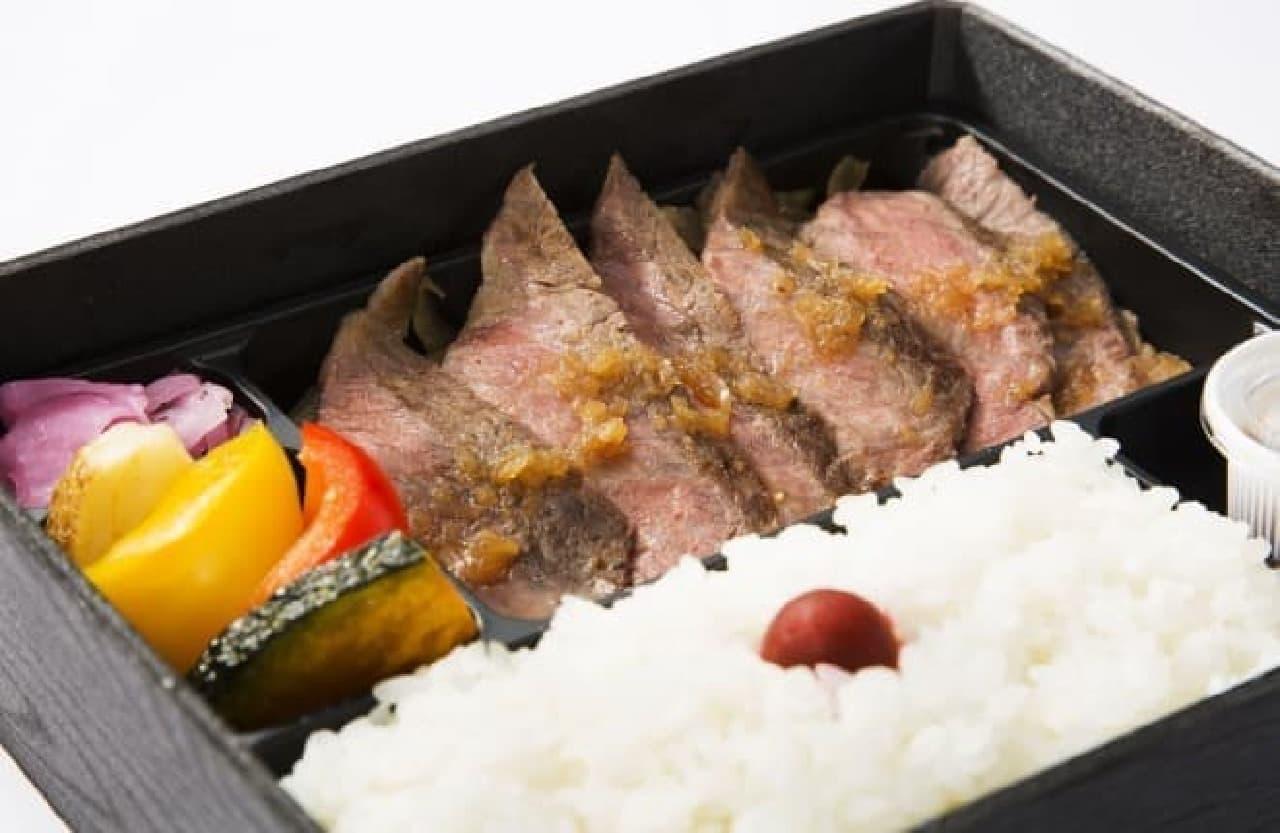 浅草鉄板亭「5等級銘柄牛ステーキ弁当」