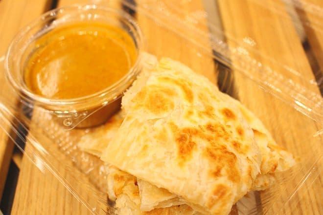 マレーシア料理「ロティ・チャナイ」
